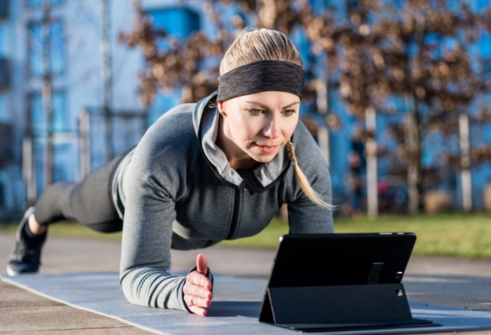 Improving Well-Being Through Virtual Fitness